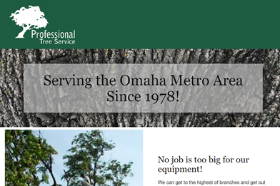 Professional Tree Service located in Omaha NE